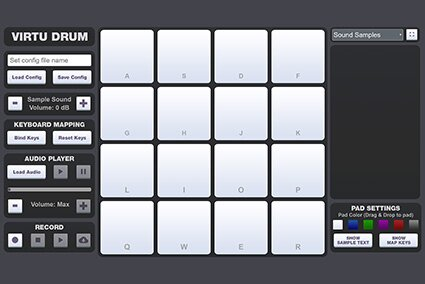 Online Virtual Drums Pad